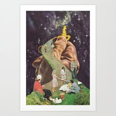 the secret (putos no castelo) Art Print