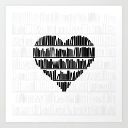 Book Lover II Art Print