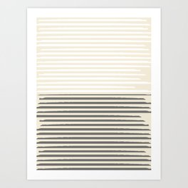 Brush Lines Pattern #society6 #decor #buyart Art Print