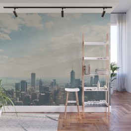 Looking down on the city ... Wall Mural