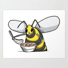 Miso Hornet Art Print