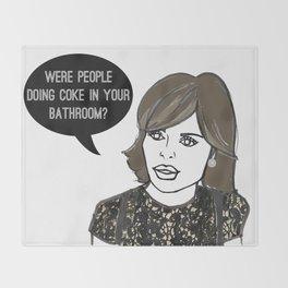 Your Bathroom Throw Blanket
