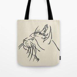Wishful Whiskers Cat Tote Bag