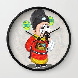 Beijing Opera Character TangQIN Wall Clock