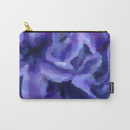 Purple Hibiscus Leaf Tapestry Print #1497 Carry-All Pouch