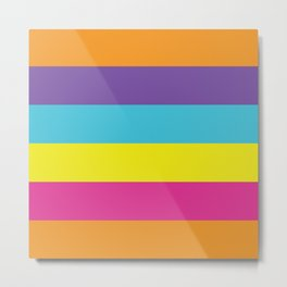 Gender Non-Binary Pride Metal Print