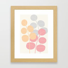 Pastel Leaves   #Society6 #decor #buyart Gerahmter Kunstdruck