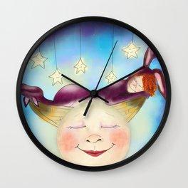 Sleep Well My Love Wall Clock
