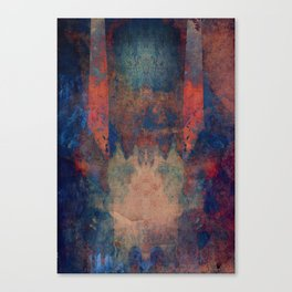 heaven is paved with broken glass Canvas Print