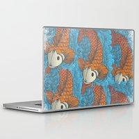 koi Laptop & iPad Skins featuring KOI by Matthew Taylor Wilson