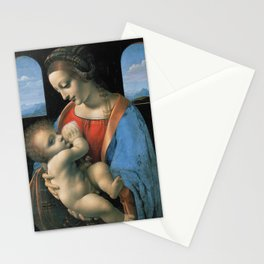 """Leonardo da Vinci """"Madona Litta"""" Stationery Cards"""