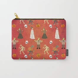 Unicorn Halloween Pattern Carry-All Pouch