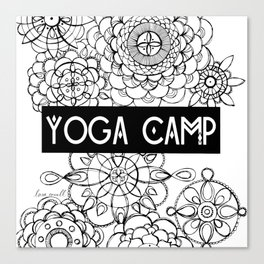 Yoga Camp Minneapolis Canvas Print
