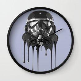 Shadowtrooper Melting 01 Wall Clock