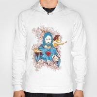 jesus Hoodies featuring Jesus  by Tshirt-Factory
