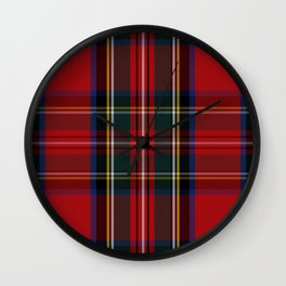CHRISTMAS CHECK Wall Clock