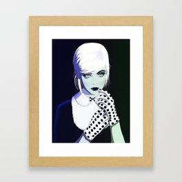 Elle Fanging Framed Art Print