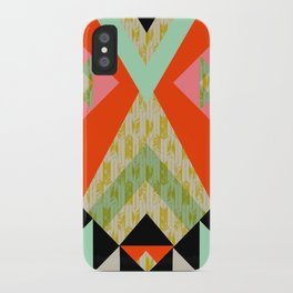 Arrow Quilt iPhone Case