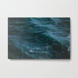 Ocean Love Waves Metal Print
