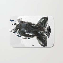 Black Mamba Bath Mat