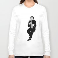 crowley Long Sleeve T-shirts featuring Crowley by Mcnobody Studios