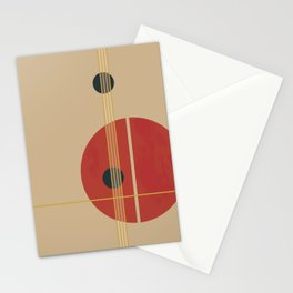 Geometric Abstract Art #3 Stationery Cards