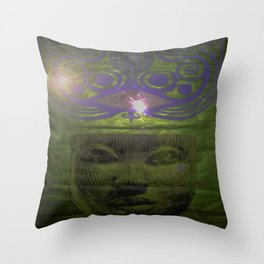 African Goddess Throw Pillow