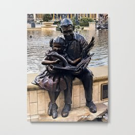 When Storybooks Come to Life Metal Print