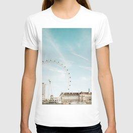 London Eye Travel Photography T-shirt