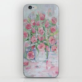 tule of tulips iPhone Skin