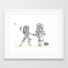 A Pirates Life Framed Art Print