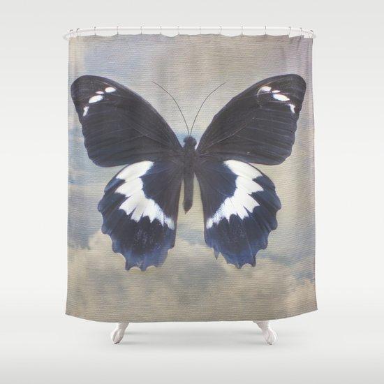 Butterfly Sky Shower Curtain
