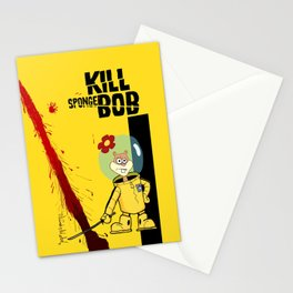 Kill Spongebob Stationery Cards