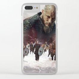 The Heart Of A King Clear iPhone Case