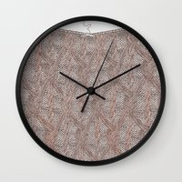 knitting Wall Clocks featuring Knitting experience by Julia Kisselmann