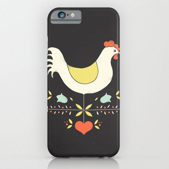 Folk Chicken iPhone & iPod Case