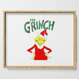 The Grinch Serving Tray