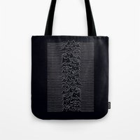 joy division Tote Bags featuring Joy Division by Tobe Fonseca