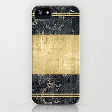 marble in gOld Slim Case iPhone (5, 5s)