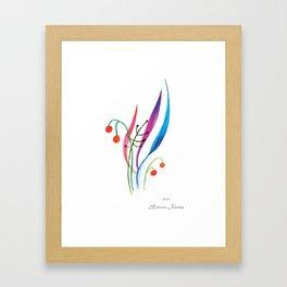 """Illustration for the kids book """"Small White"""" 1 Framed Art Print"""
