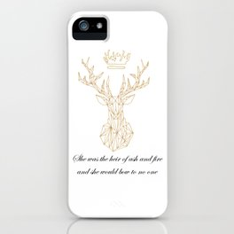The Crowned Stag iPhone 11 case