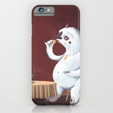 the yeti came for tea iPhone 6s Slim Case