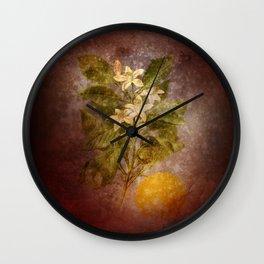 Vintage Fruit Wall Clock