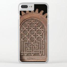 Sun Arch (Marrakech) Clear iPhone Case