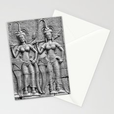 Cambodian Fertility Goddesses Stationery Cards