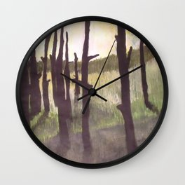 World's End Swamp Wall Clock