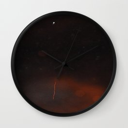 Mysteries of the Skies Wall Clock