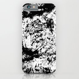 Inky Texture 14 iPhone Case