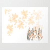 Flowers in Paradise Art Print
