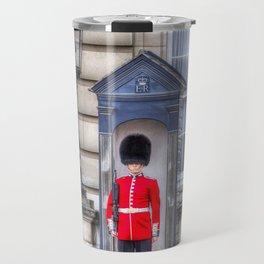 Buckingham Palace Queens Guard Travel Mug